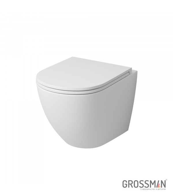 Унитаз подвесной Grossman GR-4455MS (матовый)