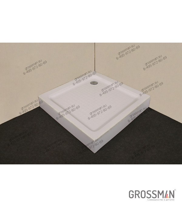 Поддон Grossman 90*90*15 для GR-1090, 3090, 6090