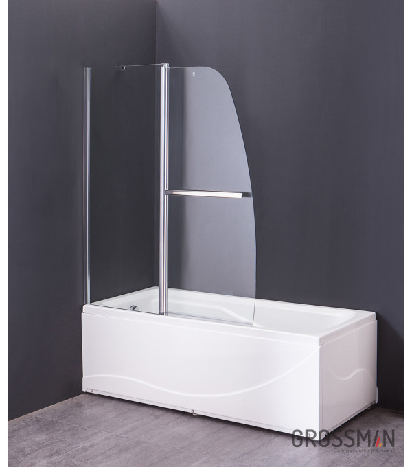 Шторка для ванны Grossman GR-100/2