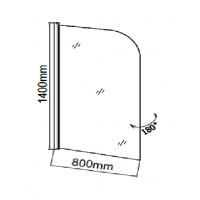 Шторка для ванны Grossman GR-100P