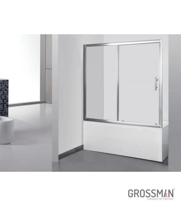 Шторка для ванны Grossman GR-150/2