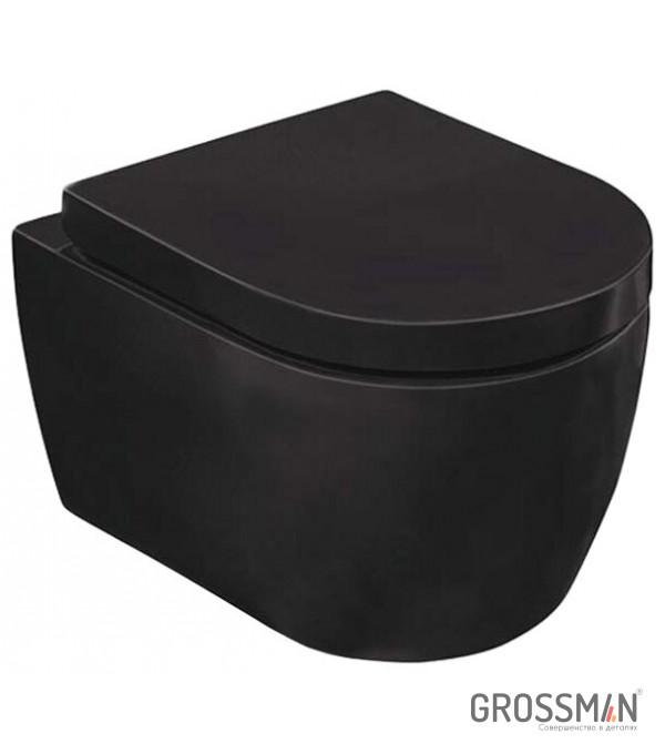Унитаз подвесной Grossman GR-4411 черный